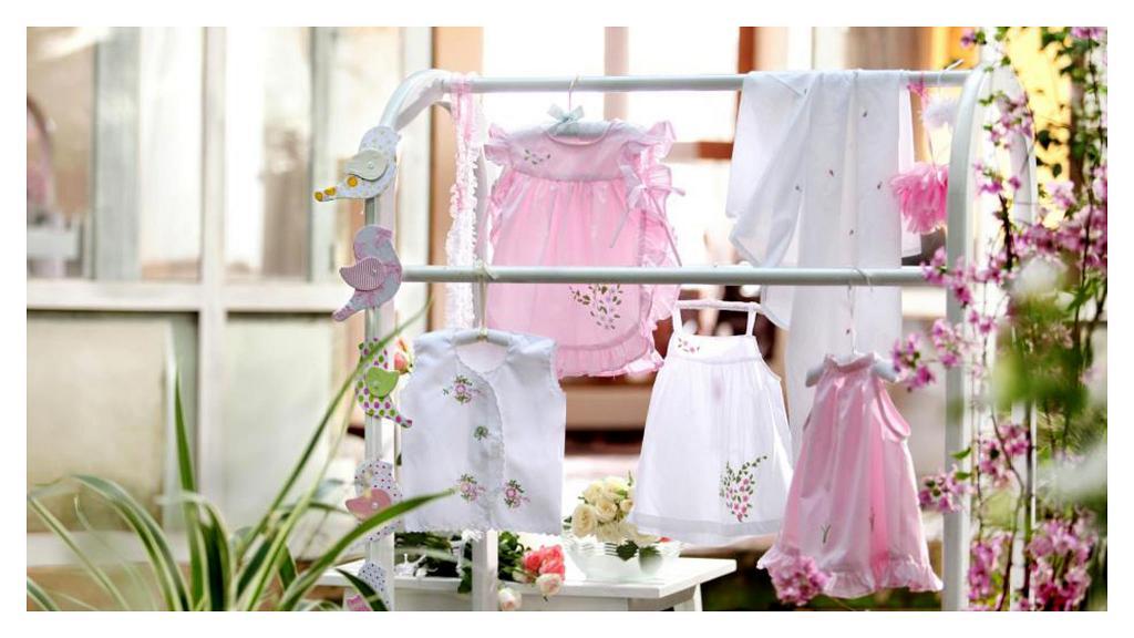 Варианты применения вышивки на детской одежде
