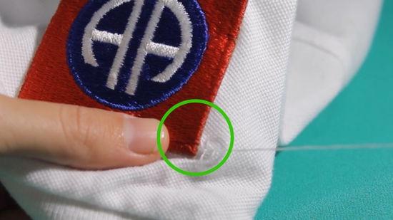 Как можно прикрепить нашивки на предметы одежды