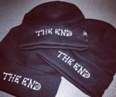 Вышивка The END на шапке