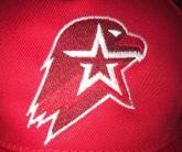 Вышивка эмблемы Юнармия на бейсболке