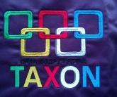 Вышивка на спортивной одежде TAXON