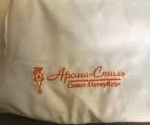 Вышивка на спецодежде для Арома-Стиль