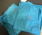 Вышивка на медицинском халате
