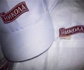Вышивка логотипа на униформе и бейсболке