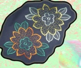 Вышивка на домашнем текстиле Апликация