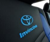 авточехлы с вышивкой Toyota