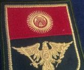 Вышивка шевронов на форму иностранных государств