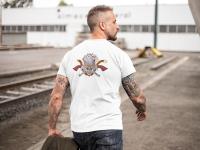 Вышивка на мужских футболках