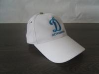 Вышивка логотипа Динамо на бейсболки