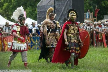 шевроны в Древнем Риме