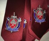 Вышивка на галстуке