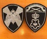Шевроны Росгвардии Северо-Западного округа на форму Вневедомственной охраны