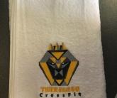 Полотенце с вышивкой для фитнес центра