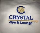 Логотип на одежду Crystal Spa and Lounge