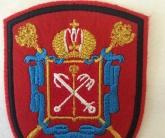 Вышивка шеврона с гербом
