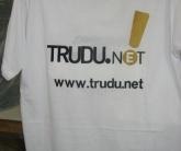 Вышивка для рекламы и промоакций Trudu