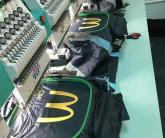 Нанесение вышивки на униформу