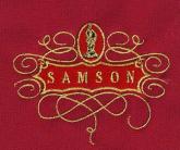 Вышивка золотом SAMSON