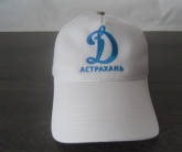 Вышивка логотипа Динамо на бейсболке