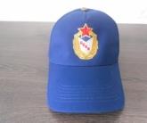 Вышивка логотипа ЦСКА на бесболке